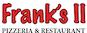 Frank's II Pizzeria logo