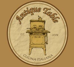 Antique Table's Piccolo Piatti