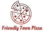 Friendly Town Pizza logo