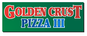 Golden Crust Pizza III logo