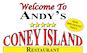 Andy's Coney Island logo