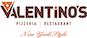 Valentino's New York Style Pizzeria logo