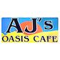 Aj's Oasis Cafe logo
