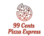 99 Cents Pizza Express logo