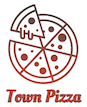 Town Pizza logo