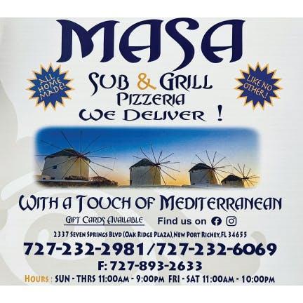 Masa Sub & Grill