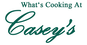What's Cooking At Casey's logo