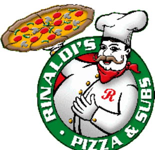 Rinaldi Pizza & Sub Shop logo