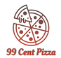 99 Cent Pizza logo