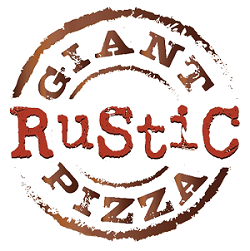 Giant Rustic Pizza