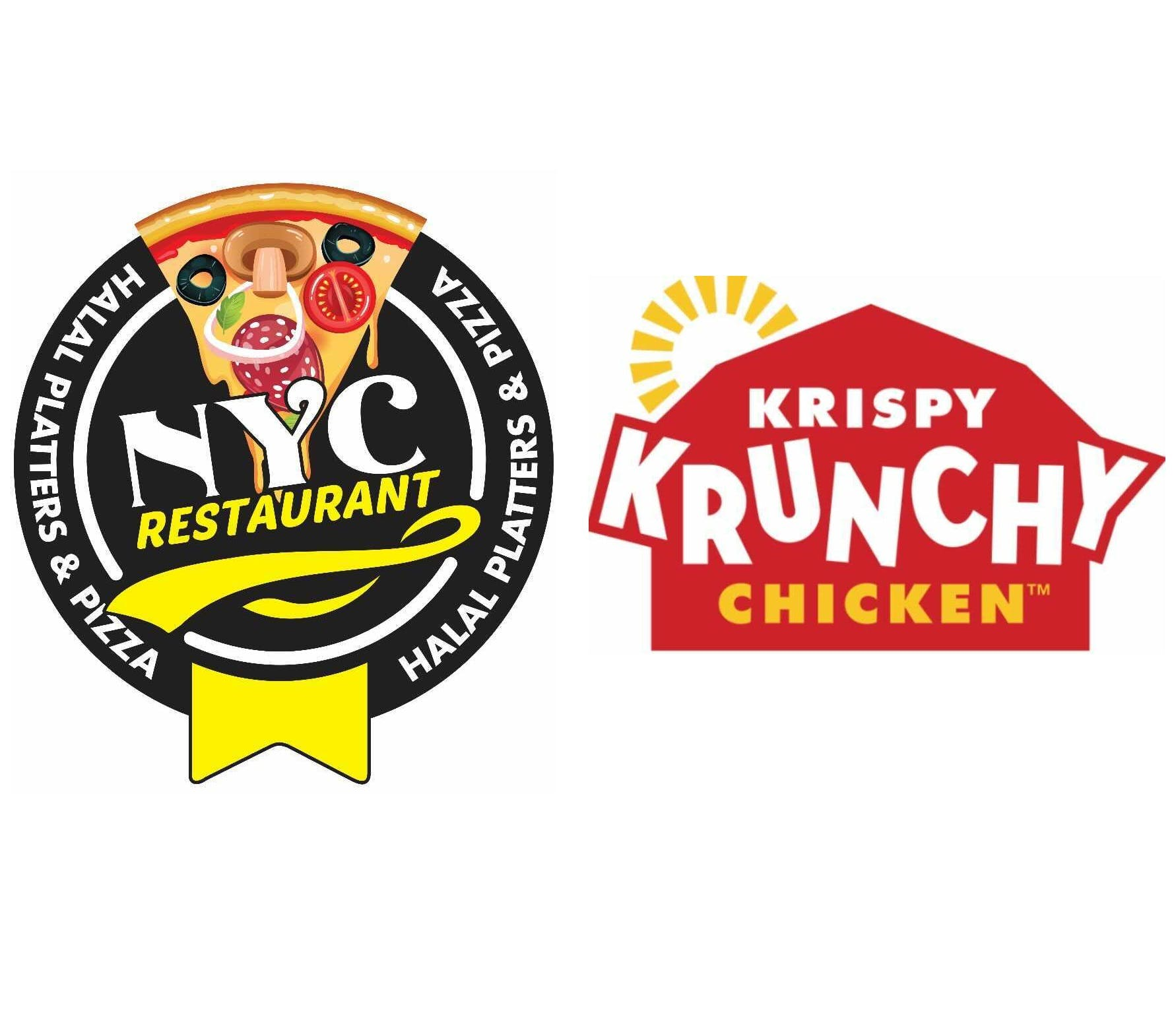 KKC & NYC Restaurant Halal Platters & Pizza