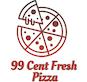 99 Cent Fresh Pizza logo