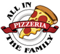 All in the Family Pizzeria logo