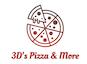 3D's Pizza & More logo