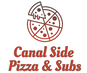 Canal Side Pizza & Subs logo