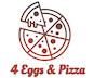 4 Eggs & Pizza logo