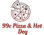 99¢ Pizza & Hot Dog logo