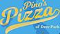 Pino's Pizza of Deer Park logo