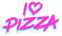 I Love Pizza - Miami Beach logo