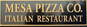 Mesa Pizza Co logo