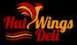 Hut Wings Deli logo