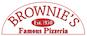 Brownie's Famous Pizzeria logo