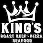 Kings Famous Roastbeef Pizza & Seafood logo