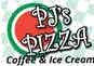PJ's Pizza, Coffee & Ice Cream logo