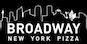 Broadway New York Pizza logo