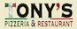Tony's Pizzeria & Restaurant logo
