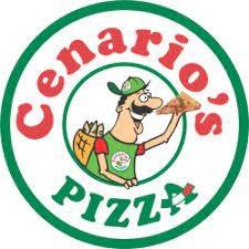 Cenario's Pizza of Dixon logo