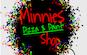 Minnies Pizza & Paint Shop logo