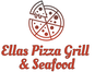 Ellas Pizza Grill & Seafood logo