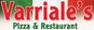 Varriales Pizza logo