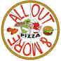 All Out Pizza & More logo