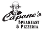 Capone's Speakeasy & Pizzeria logo