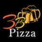 3 B Pizza logo