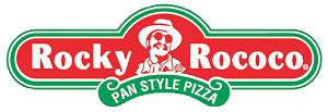 Rocky Rococo Pan Style Pizza logo