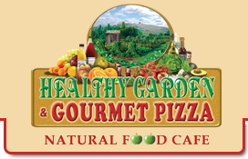 Healthy Garden & Gourmet Pizza logo