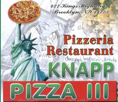 Knapp Pizza III