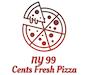 NY 99 Cents Fresh Pizza logo