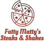 Fatty Matty's Steaks & Shakes logo
