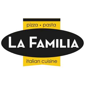 La Familia Pizza & Pasta of Cross River logo