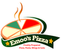 Emoo's Pizza Wings & Subs logo