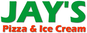 Jay's Pizza & Ice Cream logo