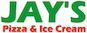 Jay's Pizza & Ice Cream logo