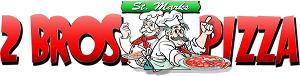 2 Bros Pizza logo