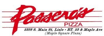 Passero's Pizza