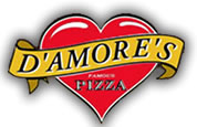 D'Amores Pizza logo