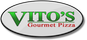 Vito's Gourmet Pizza logo
